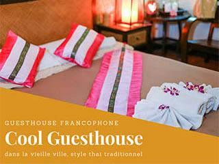 Guesthouse franco-thai dans la vieille ville